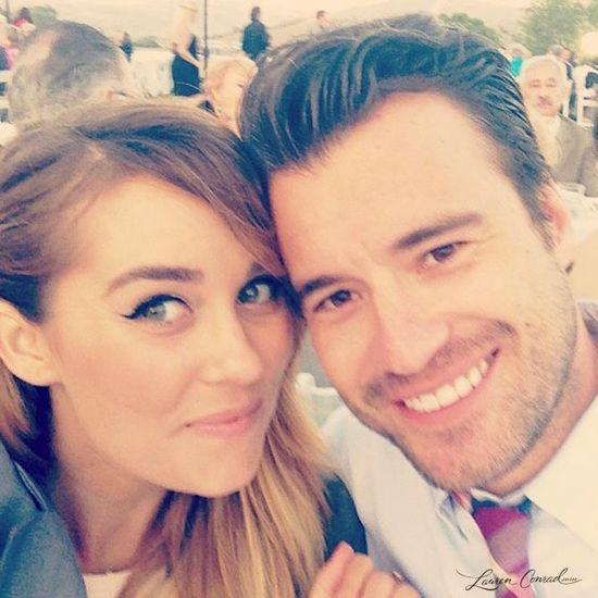 Lauren Conrad with her boyfriend William Tell #LaurenConrad