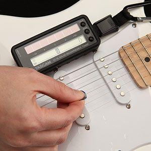 Solar Guitar Tuner