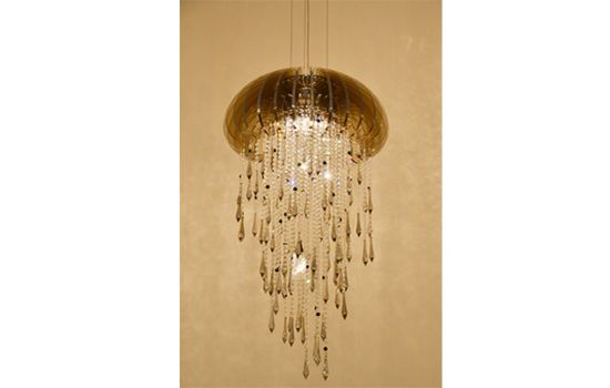 Idee Architecture Interior Design CO.LTD - Products - Jellyfish Crystal Chandeliers