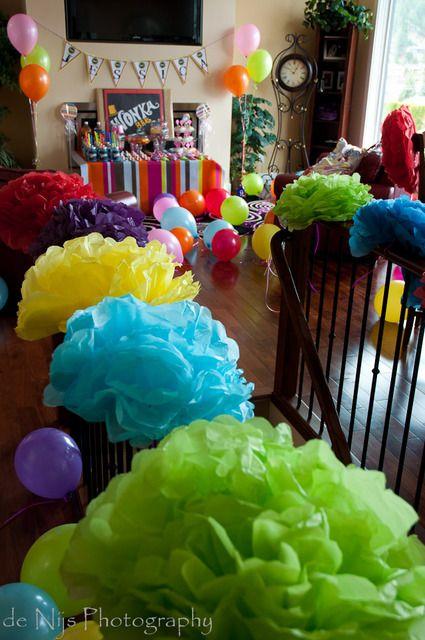 """Birthday """"Jessicas """"Willy Wonka"""" Party"""""""
