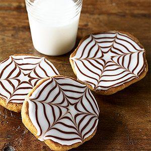 Spiderweb Cookies #halloween