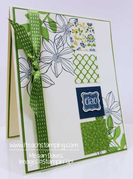 Ciao, Baby, Stampin Up, Petite Curly Label Punch