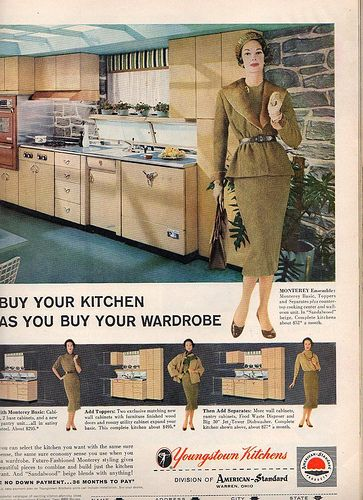 1957 Youngstown Kitchens ad