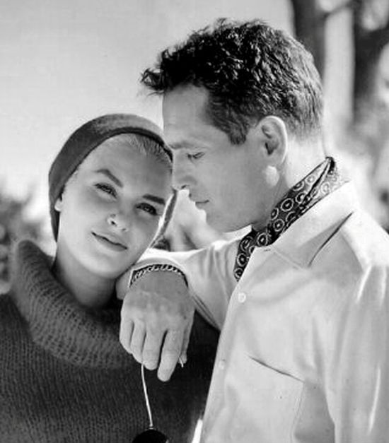 Paul Newman & Joanne Woodward You can tell they were so in love.