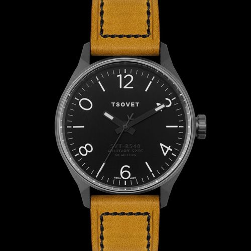 Tsvovets SVT-RS40. Nicely understated aviator dial inspired watch.