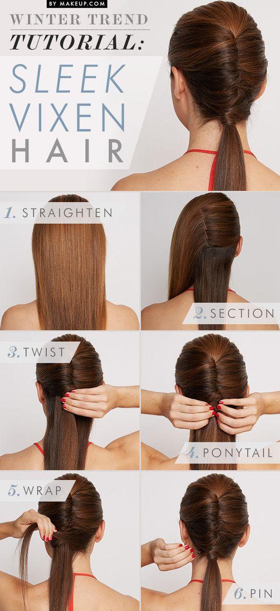 Sleek Vixen Hairstyle Tutorial