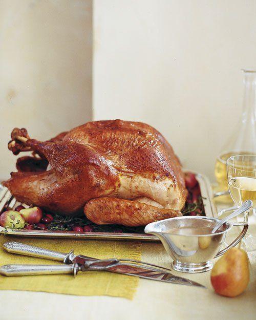 {Roasted Brined Turkey}
