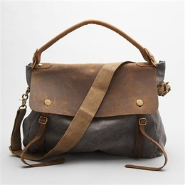 Leather & Canvas bag.