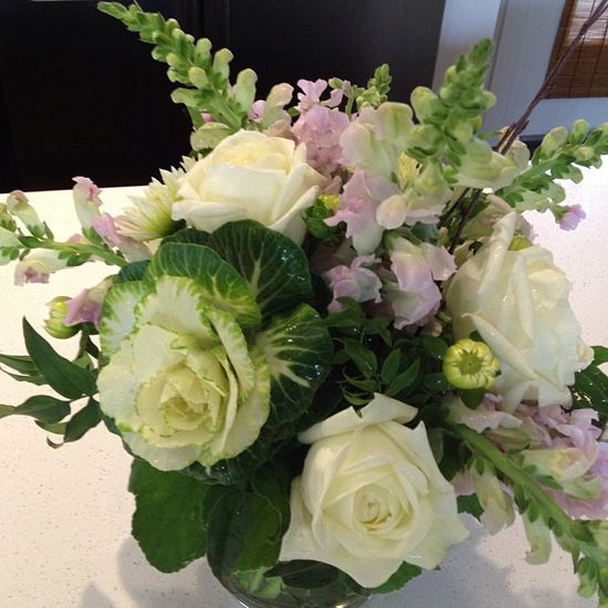 beautiful flowers from Verbena Floral