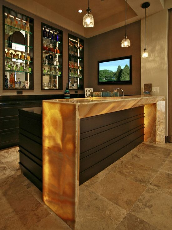 Contemporary Media Room Design, Pictures, Remodel, Decor and Ideas - page 6