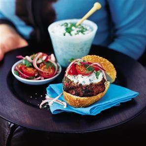 Tzatziki burgers recipe