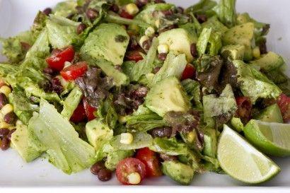 Avocado Cilantro Lime Salad
