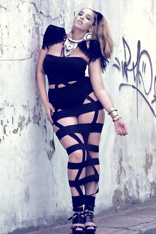 Plus Size Model Treat: Jada Sezer