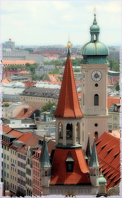 Old Munich, Germany.