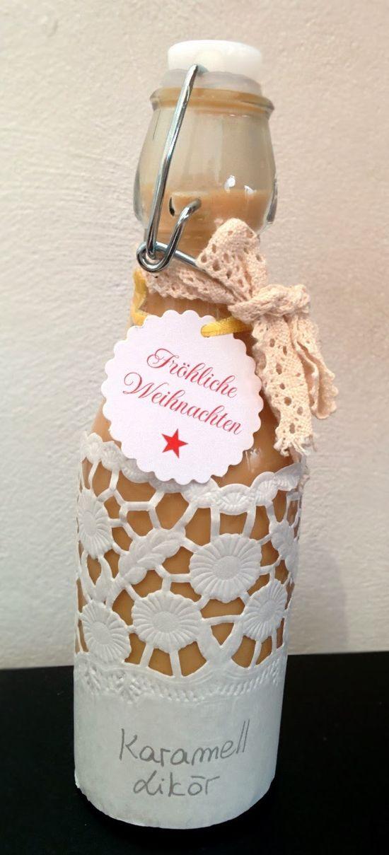 Geschenk 1. Advent * Nadine von My Sweet Bakery an Helen von Helens art of cooking * Karamelllikör