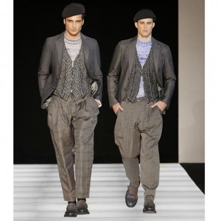 Giorgio Armani Men's Fashion Fal/Winter 2012-2013- luxos.com- Sex-ee!