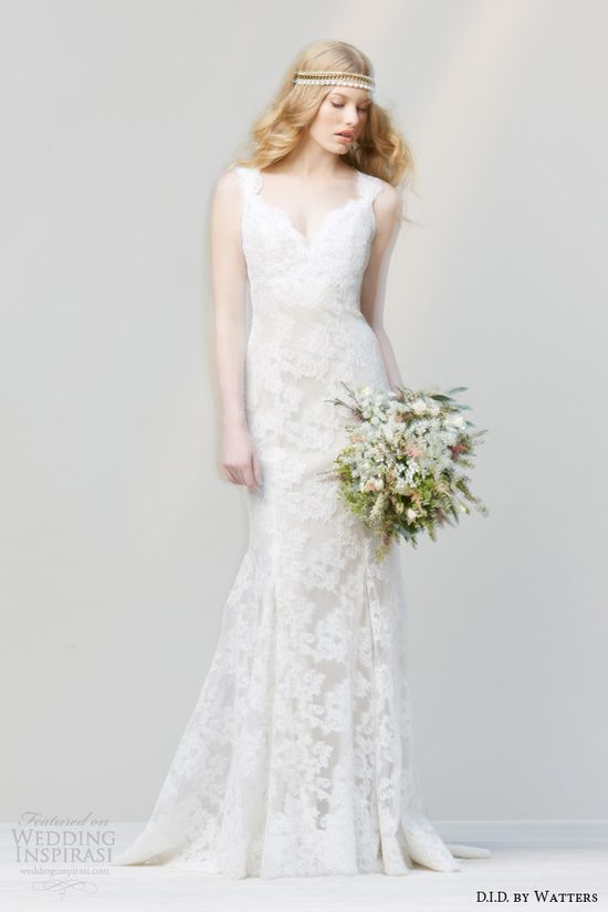 D.I.D. by Watters Spring 2014 Wedding Dresses