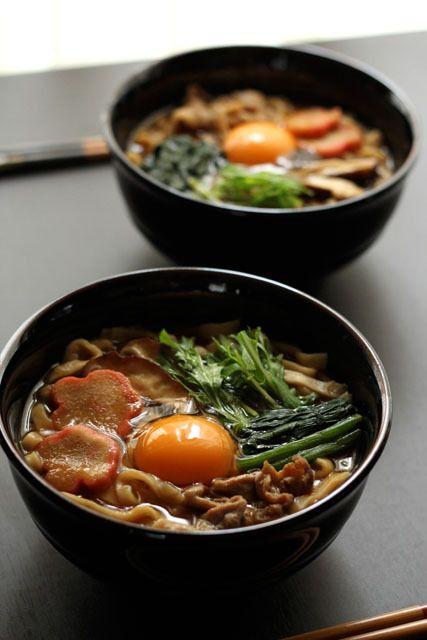 Japanese food / ??????? (miso nikomi udon)