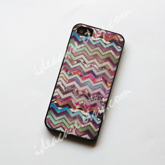 flower chevron on wood iphone 4s case iphone 4 case by IdeaCase, $16.50