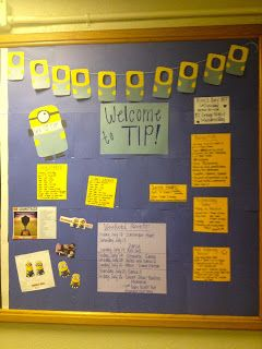 This blog has tons of great bulletin board ideas!