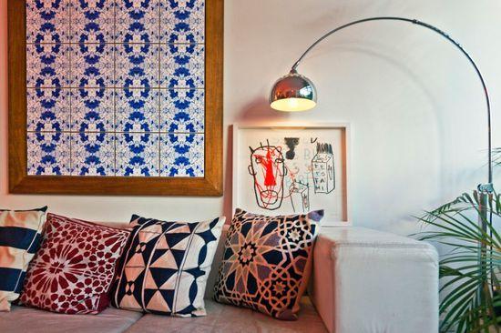 Leve mais charme para sua casa. Veja: www.casadevalenti... #decor #decoracao #color #cor #living #sala #detalhes #details #casadevalentina