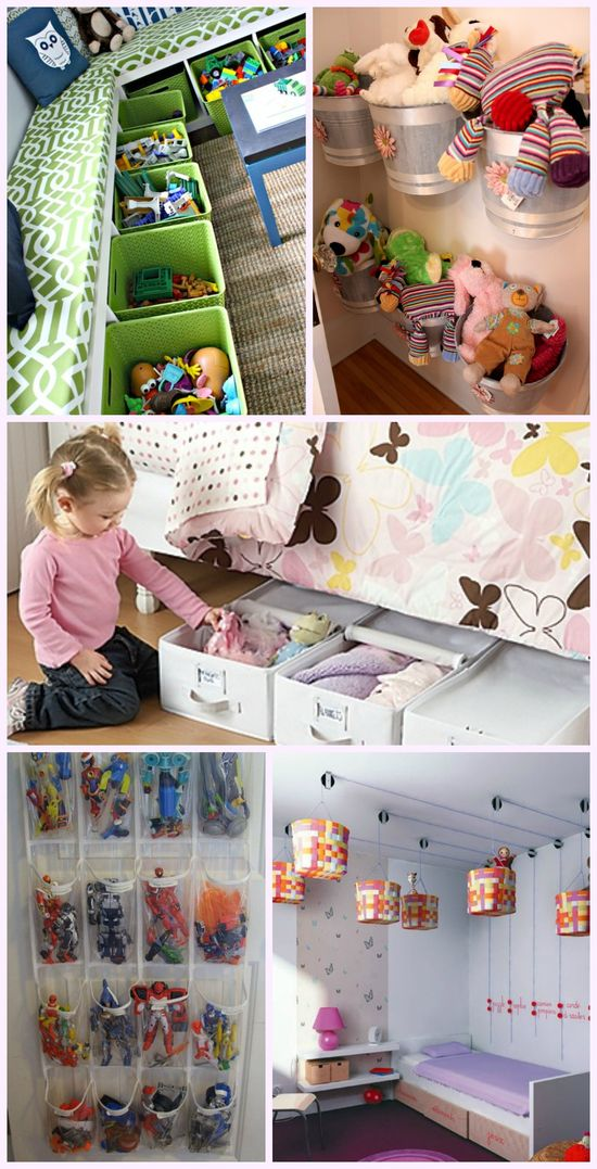 5 Easy Storage and Organization Solutions for Any Kid's Bedroom