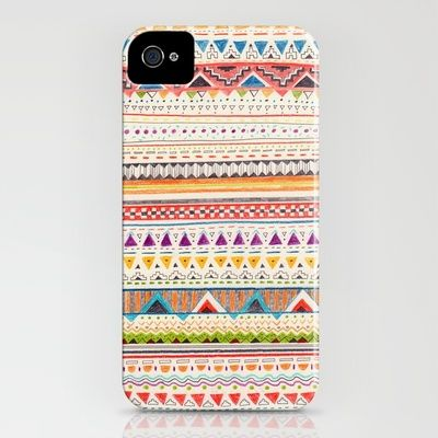 patterned iphone case cute!
