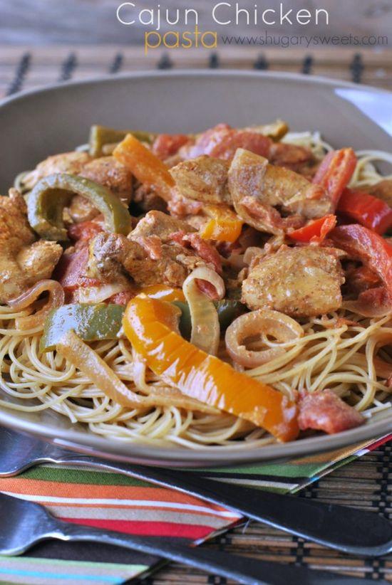 Cajun Chicken Pasta: delicious cajun chicken dinner ready in 30 minutes!