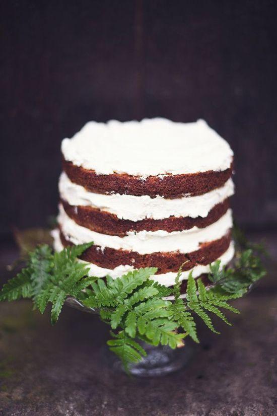 REVEL: Rustic Wedding Cake