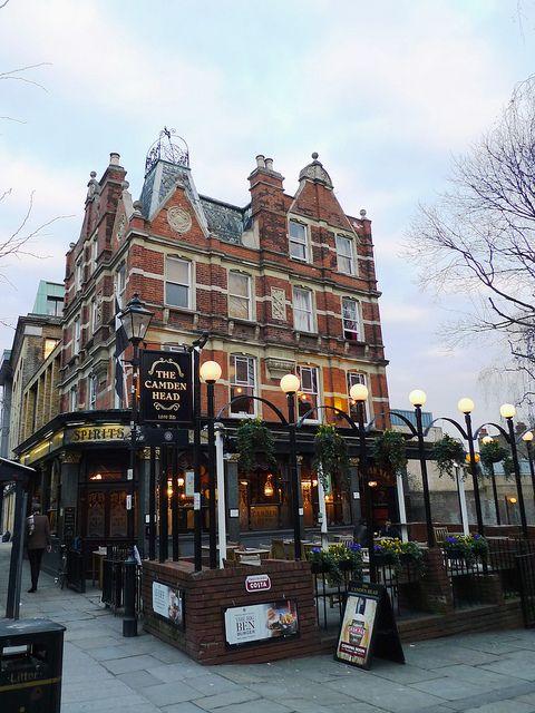 The Camden Head Pub, Islington, London