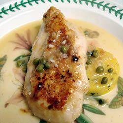 Crock Pot Chicken Piccata