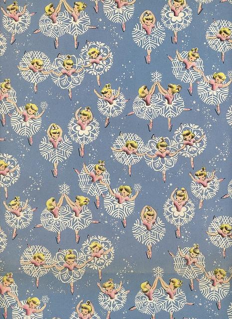 snowflake ballet paper