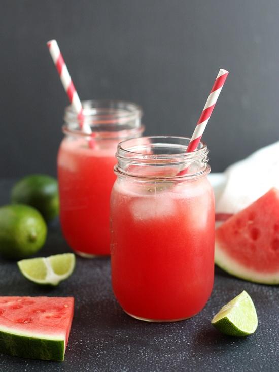 Watermelon lime soda