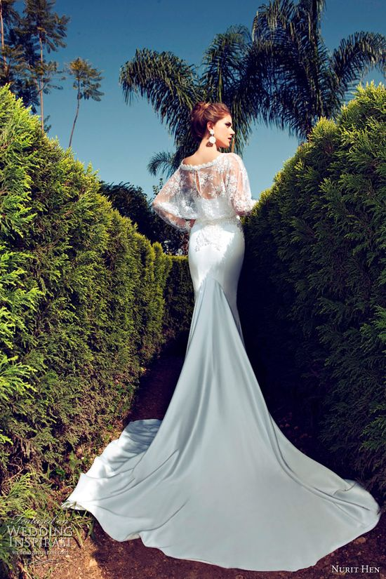 Nurit Hen 2013 #Bridal #Gown Collection. #wedding #dress