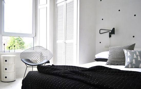 bedroom - dots