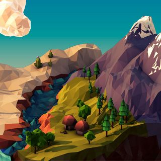 Geometric Landscapes Work of JR Schmidt - 3D Artist & Motion Designer - cargocollective.c...