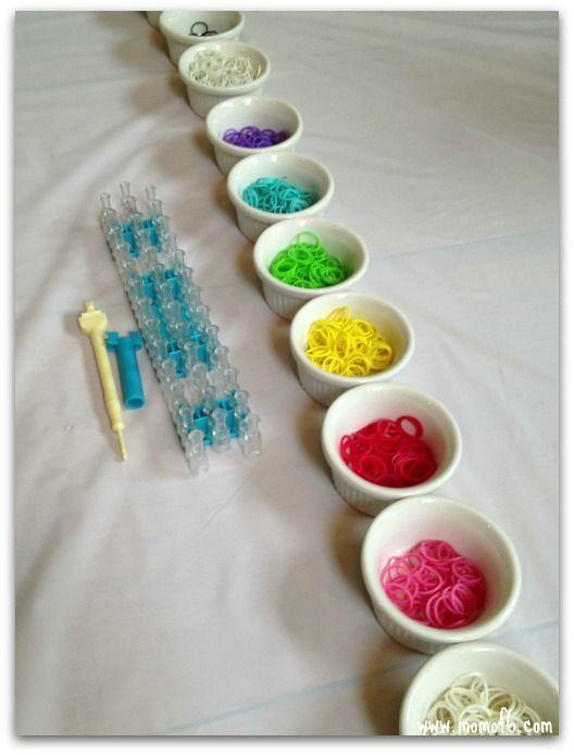 Rainbow Loom Party Ideas
