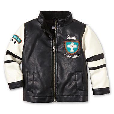 joe fresh baby leather jacket