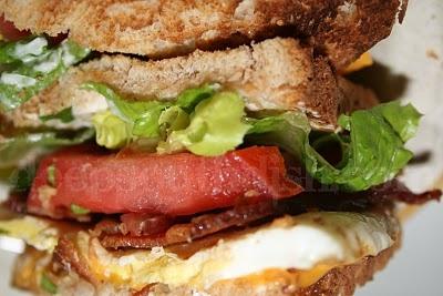 Fried Egg BLT Sandwich