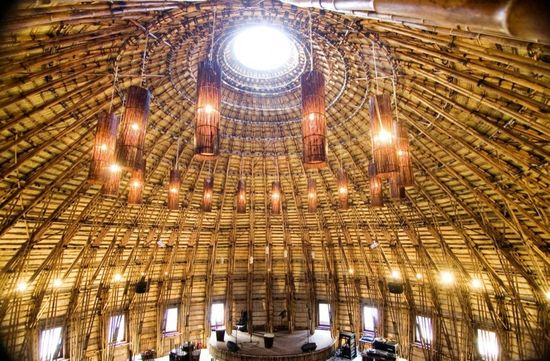 real life is elsewhere: great bamboo structure from Vietnamese architect Vo Trong Nghia