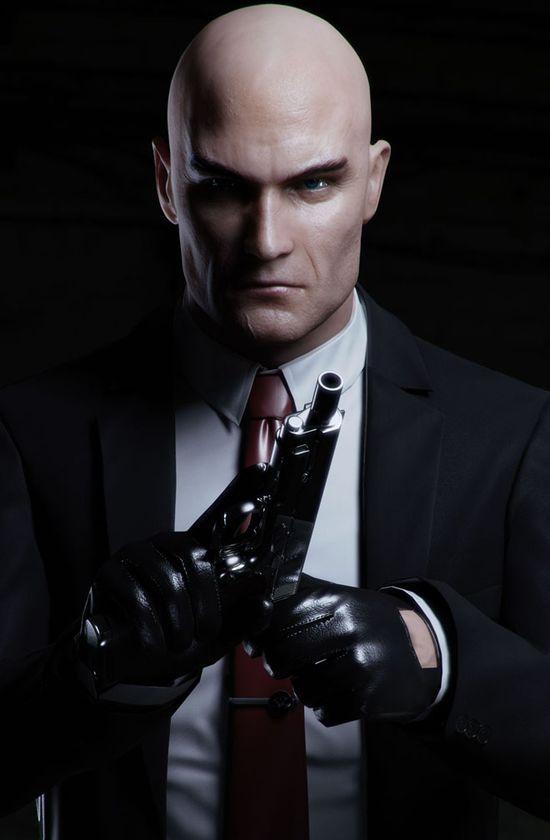 Hitman 3d Game Character Design
