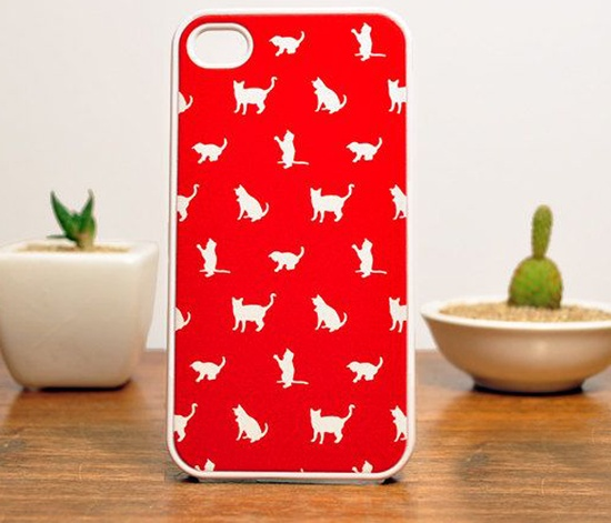 Cat iPhone 4 or 4S Case :)