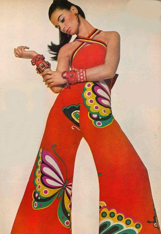 Hanae Mori jumpsuit, 1967