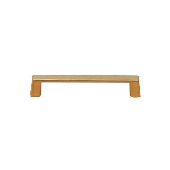 Richelieu Hardware 4 in. Brass Pull-BP1076130 at The Home Depot