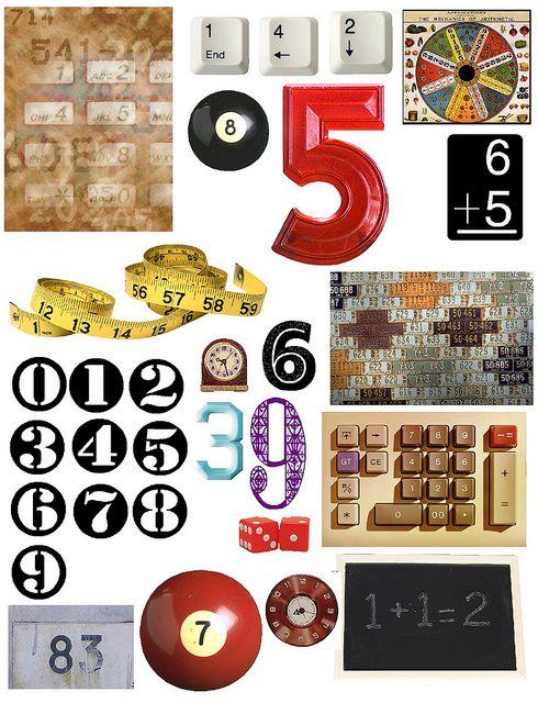 numbers! free printables