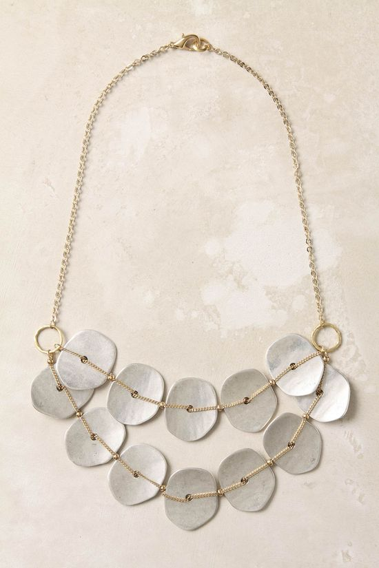 DIY Jewelry Idea  Could use shell