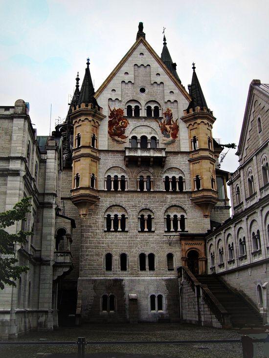 Neuschwanstein Castle, Germany   Missionary trip   Aug 2010