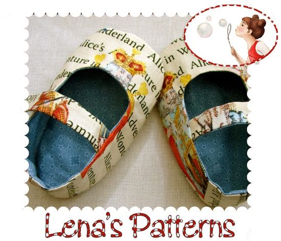 Baby Girl Shoes - Alice Sewing Pattern