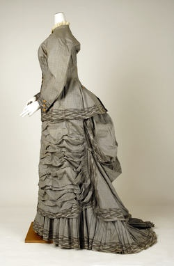 Mon. Vignon (French)  Dress  ca. 1880