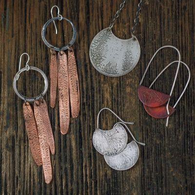 Handmade jewelry by Krista Tranquilla Studio in Truckee.